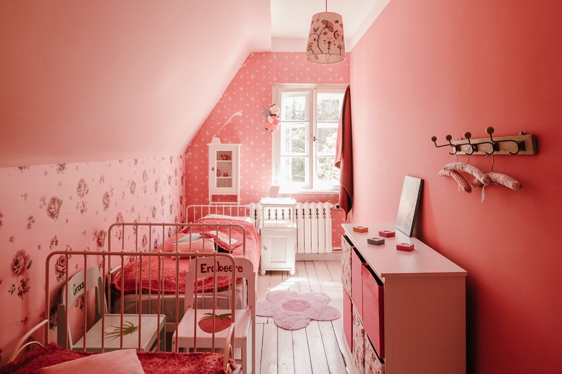 Pretty in Pink - Kinderschlafzimmer